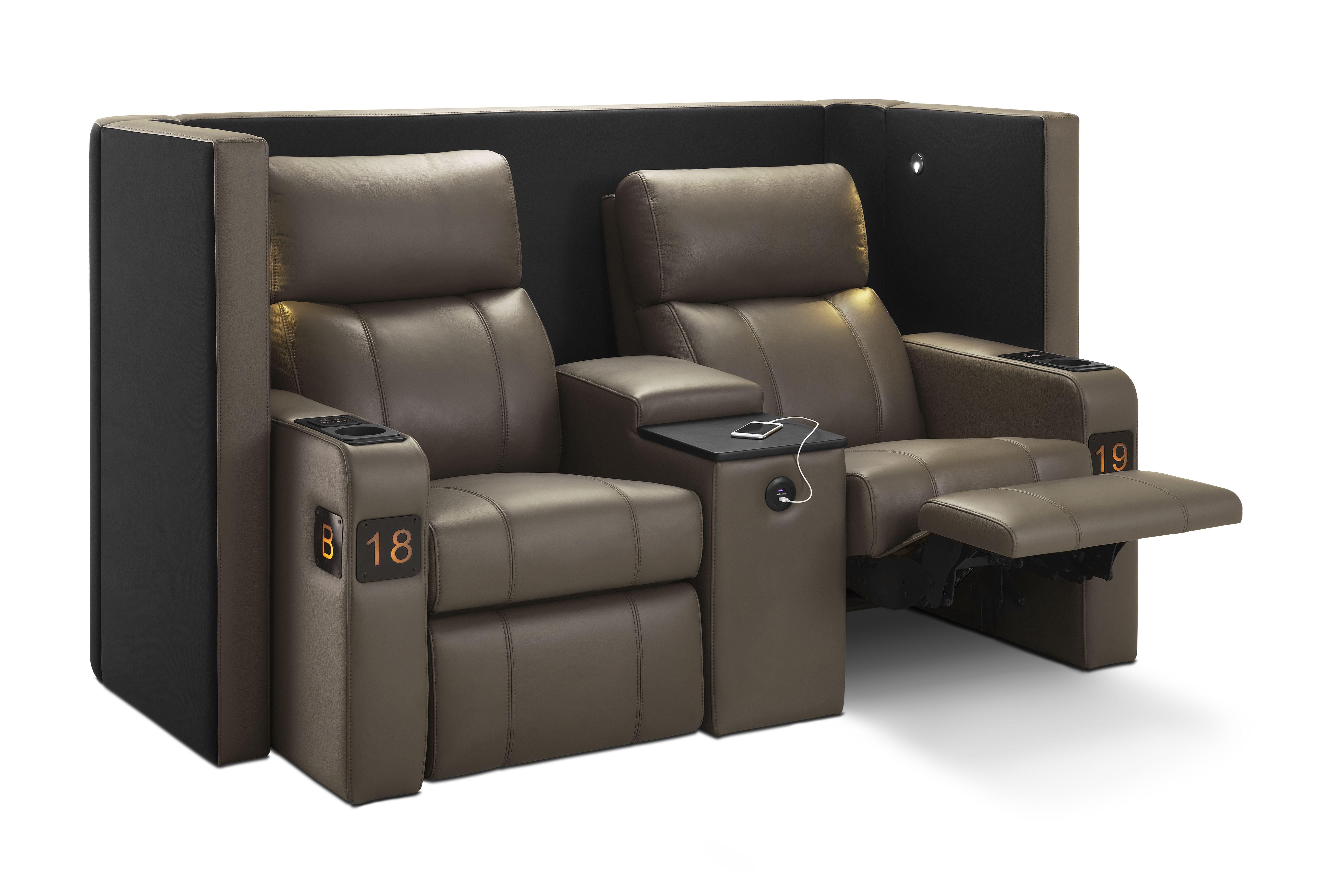 Verona Lite Vip Reclining Cinema Seating With Wrap Around Privacy