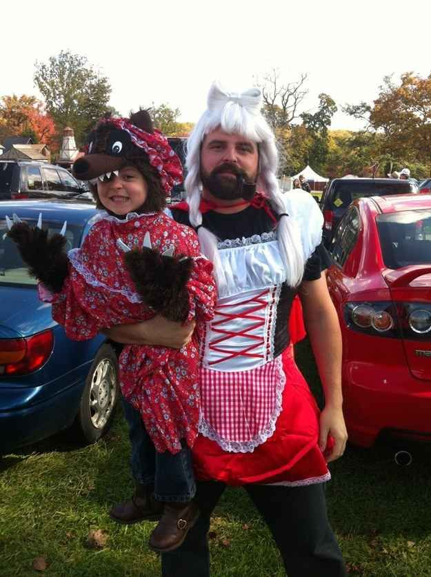 The Big Bad Wolf (with Little Red Riding Hood) 32 Parents Who