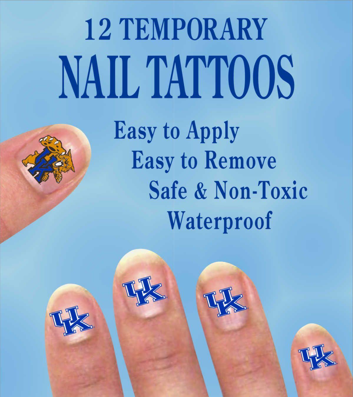 Kentucky Wildcats Nail Designs | Best Nail Designs 2018
