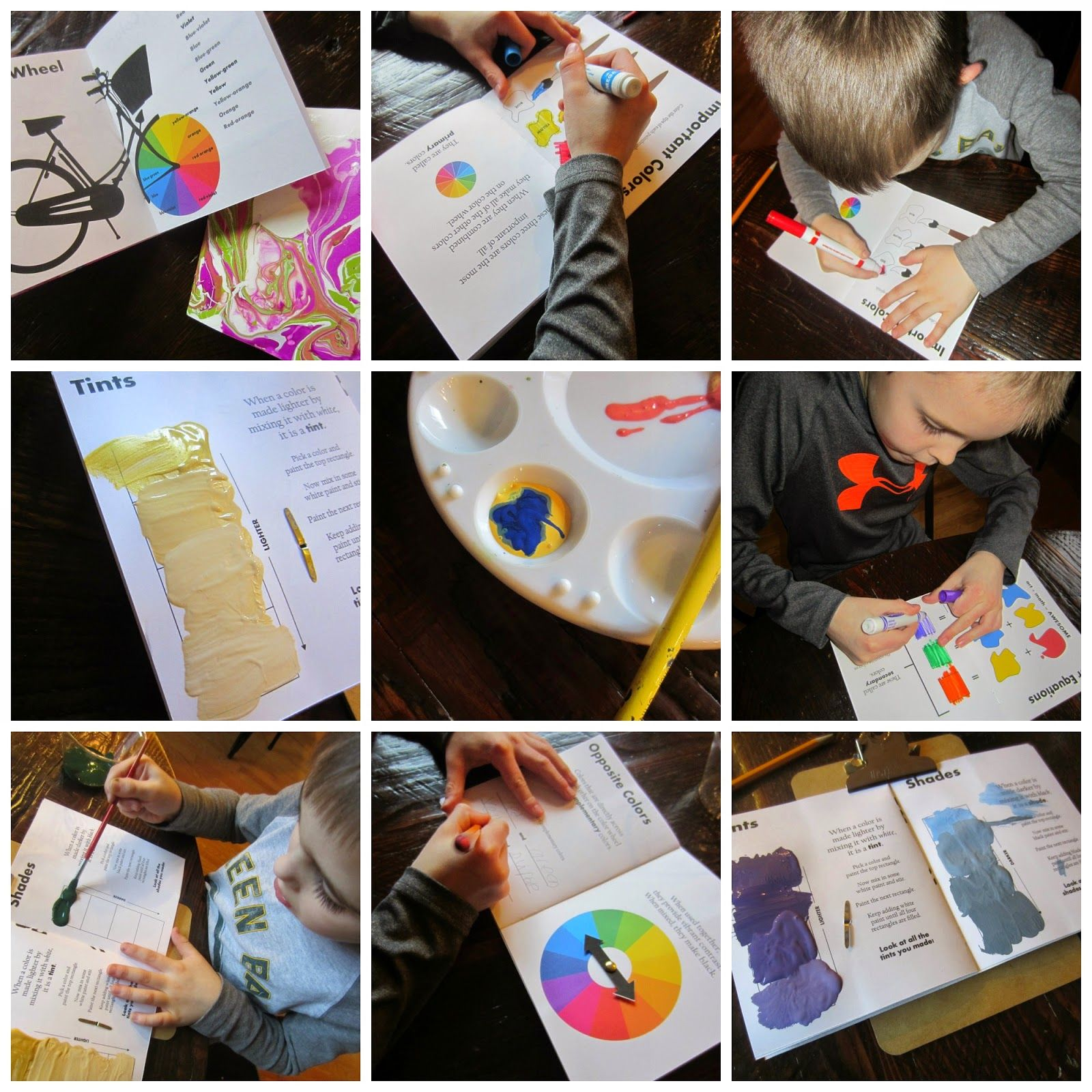 Colour book art - Relentlessly Fun Deceptively Educational Color Theory For Kids Free Printable Color Book