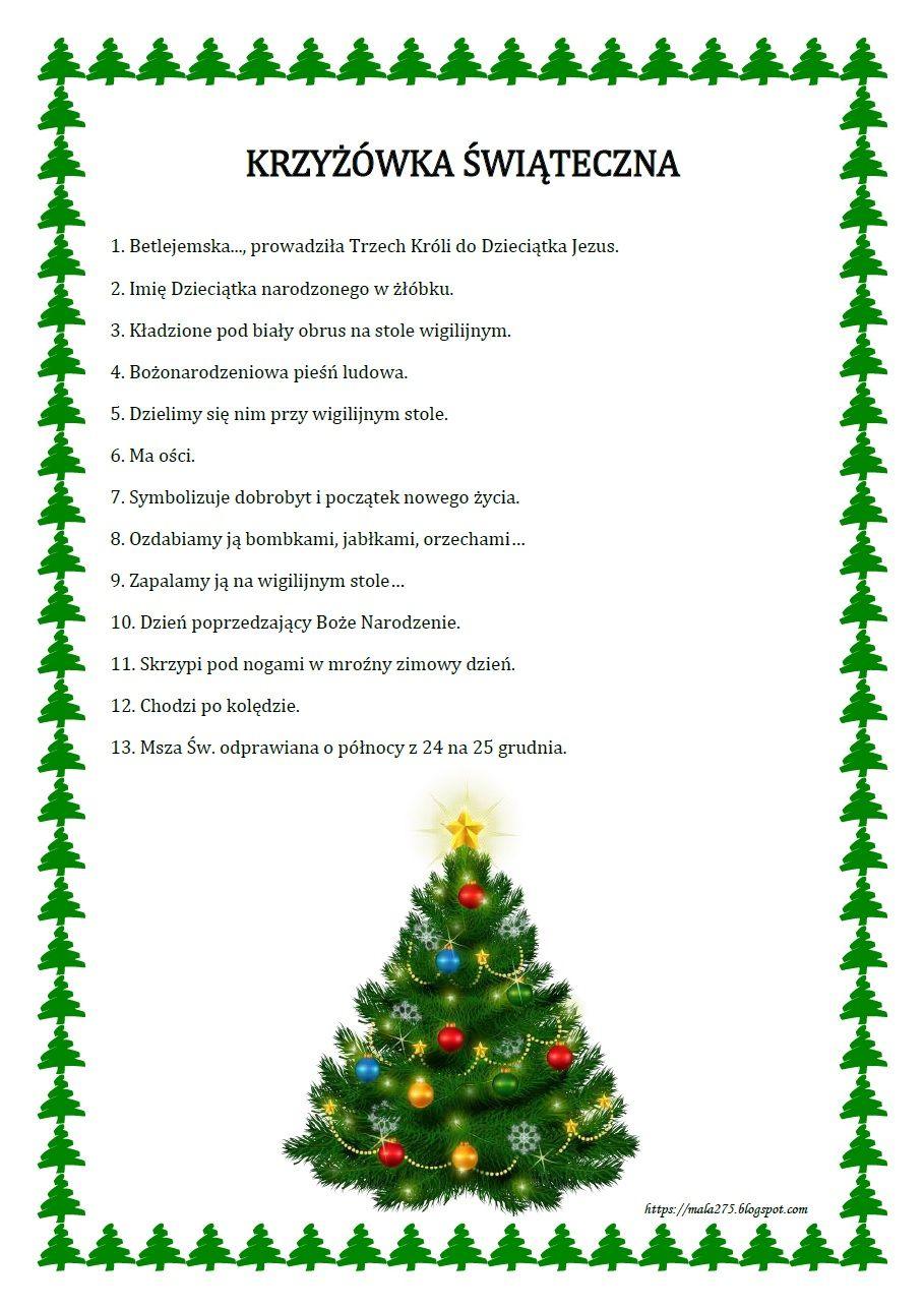 Blog Edukacyjny Dla Dzieci Christmas Time Holiday Decor Education