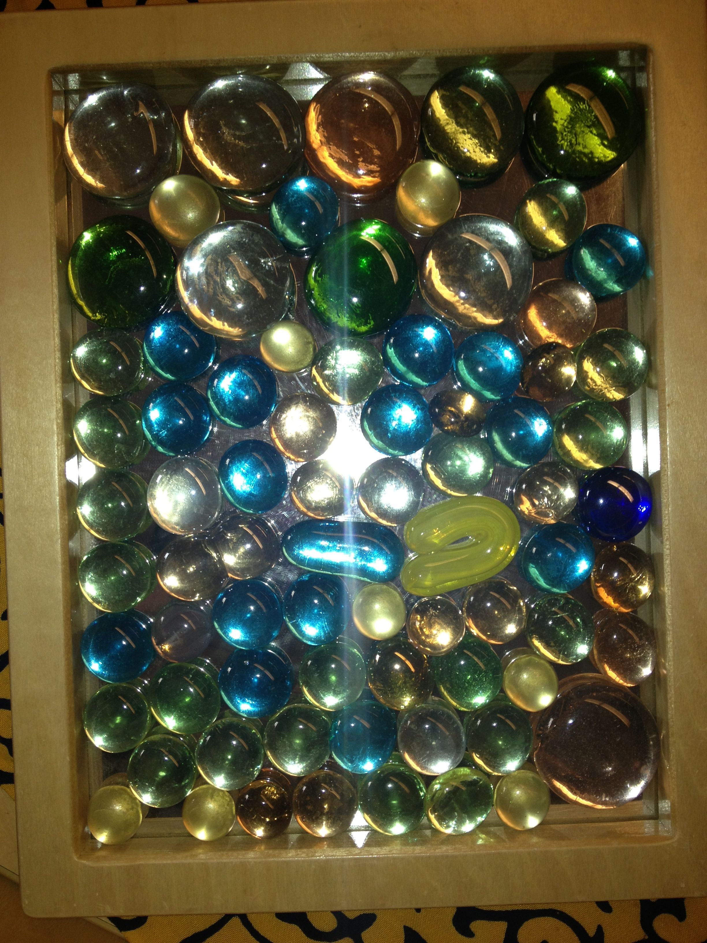 Glass gems on mirrors money makers pinterest gems for Glass and mirror craft
