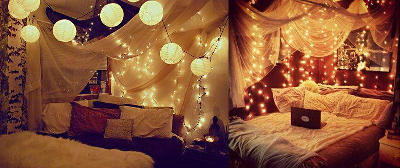 Led Lichterketten Romantisches Zimmer Led Lichterkette