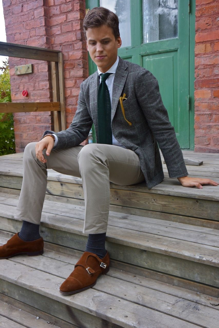 8dcbcea70df8 Outfits Ideas for Snuff Suede Double Monks for Sartorial Doctrine ...