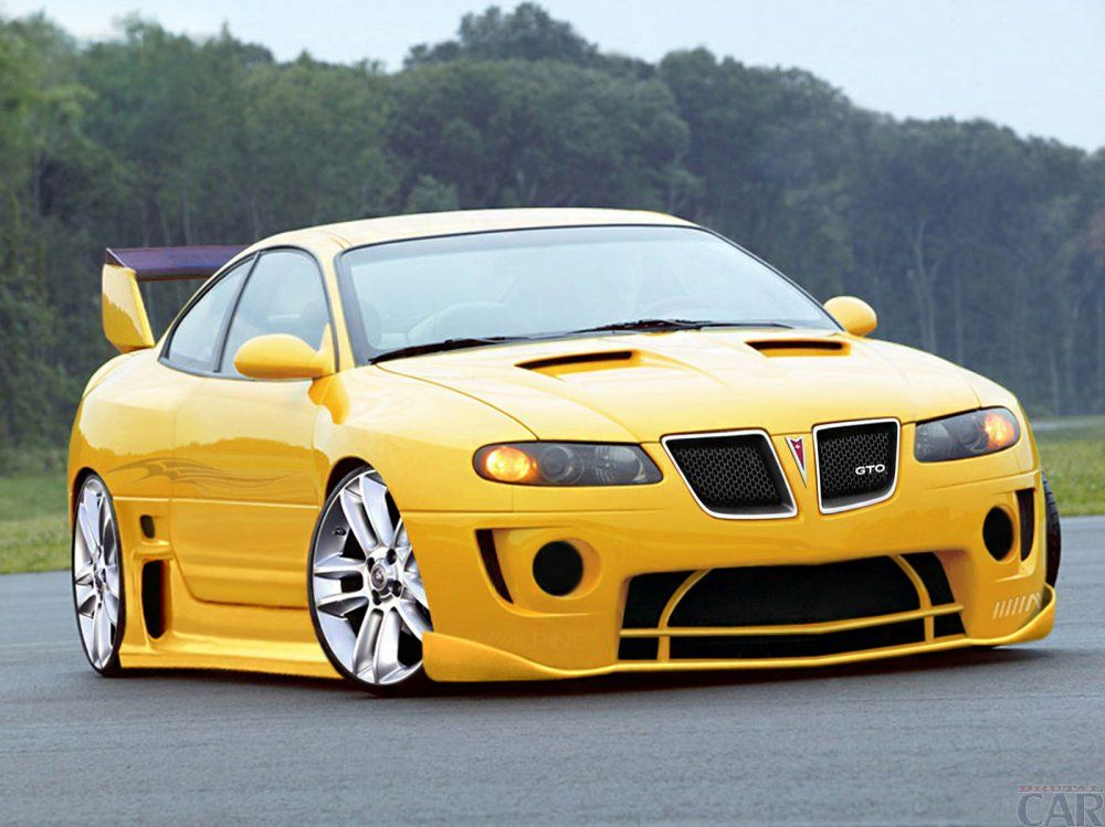Download wallpapers with remarkable yellow racing car