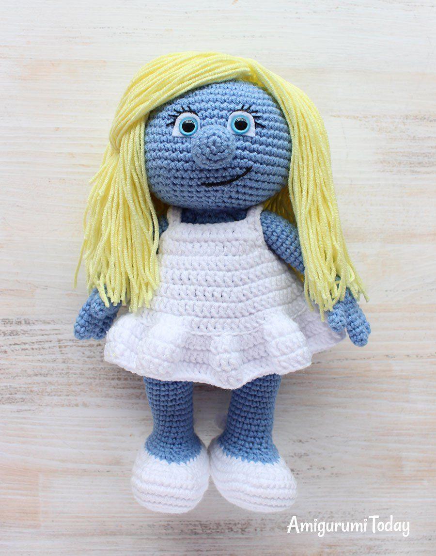 Crochet Smurfette amigurumi pattern | Pinterest | Amigurumi ...