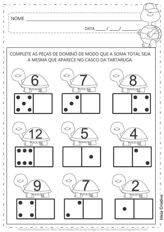 Imagem Relacionada Atividades Matematica Jardim De Infancia