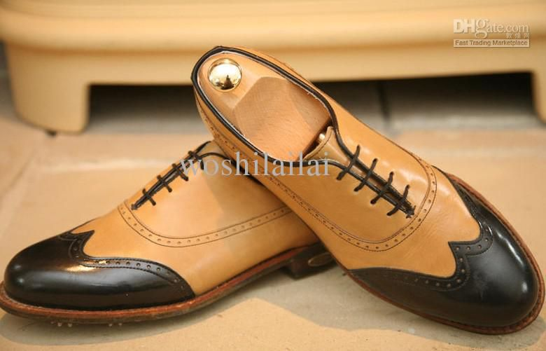 Wholesale Golf Shoes - Buy Mens Classics Golf Shoes Business Handmade Shoes  Classic Leather UK Bespoke