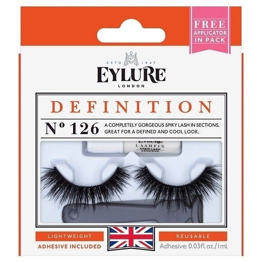 27681b37bdf Some Eylure London Lengthening False Lashes because maybe you're born with  them, or