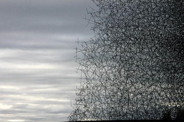 Lead pencil by Goldsworthy
