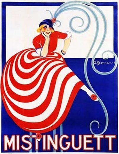 1917 Mistinguett by C Gesman
