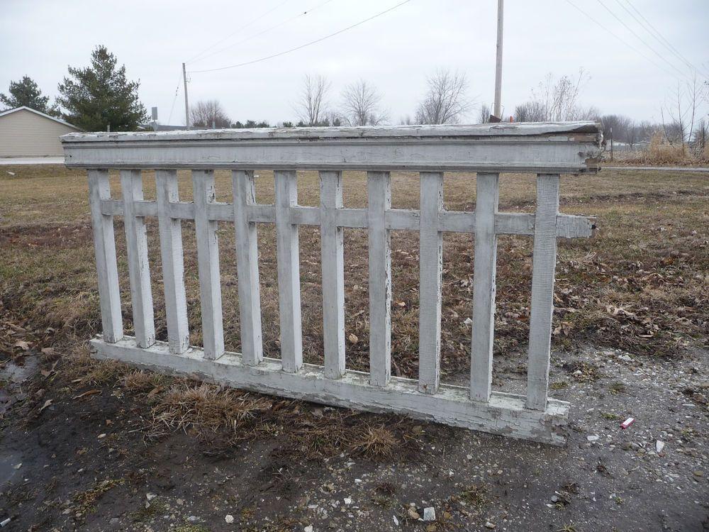 Best Antique Craftsman Style Wood Porch Railing C 1905 Fir 400 x 300