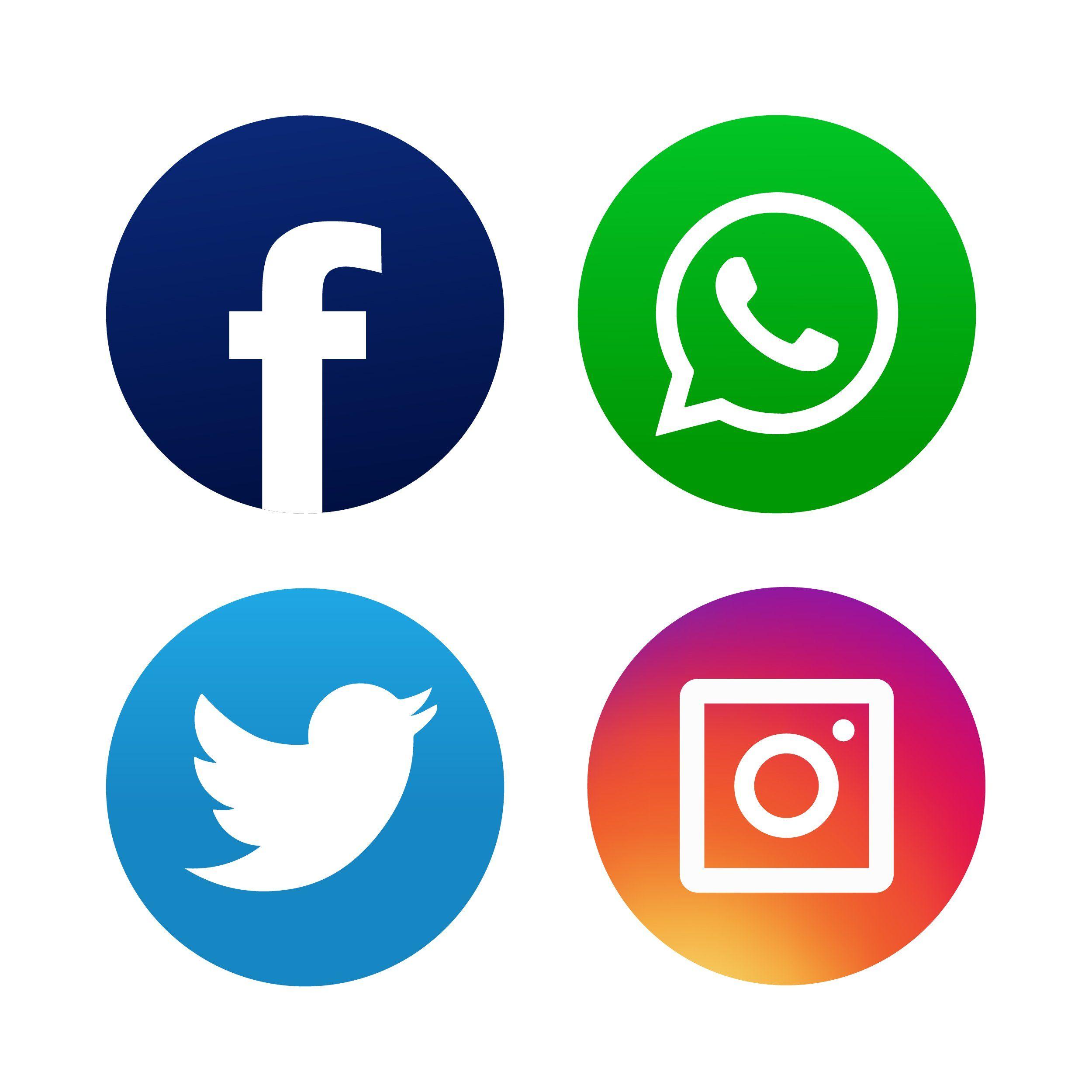Facebook Twitter And Instagram Logo Facebook And Instagram Logo Logo Facebook Instagram Logo