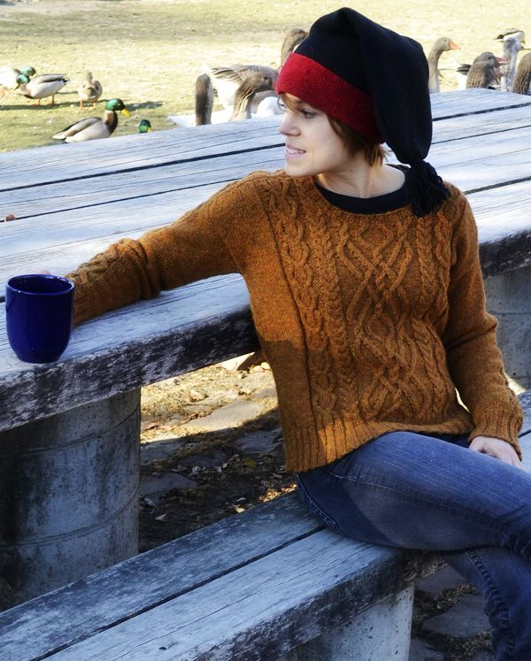 Parhelion aran pullover : Winter 2013 | mis tejidos favoritos ...