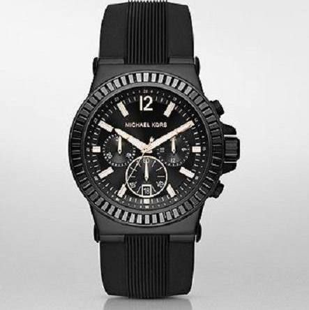 michael kors oversized watch leather band