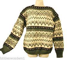 Label: Nordic Knit, 100% Wool, Handmade in Norway