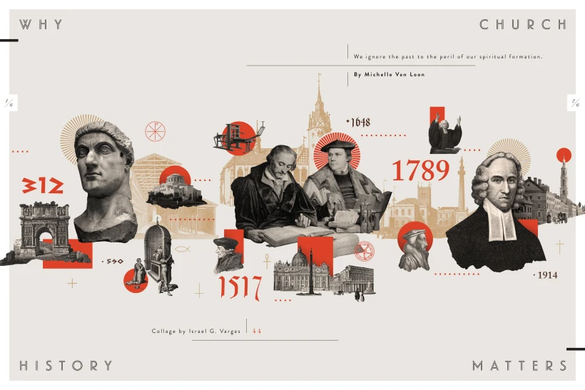 In Touch Magazine Why Church History Matters Domestika History Design Timeline Design Diagram Architecture
