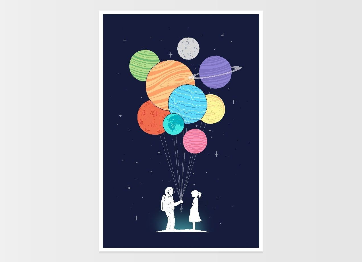 Check out the design you are my universe by lim heng swee on