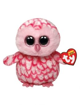 Pinky Owl 6 Inch Beanie Boo $4.45 @ justice