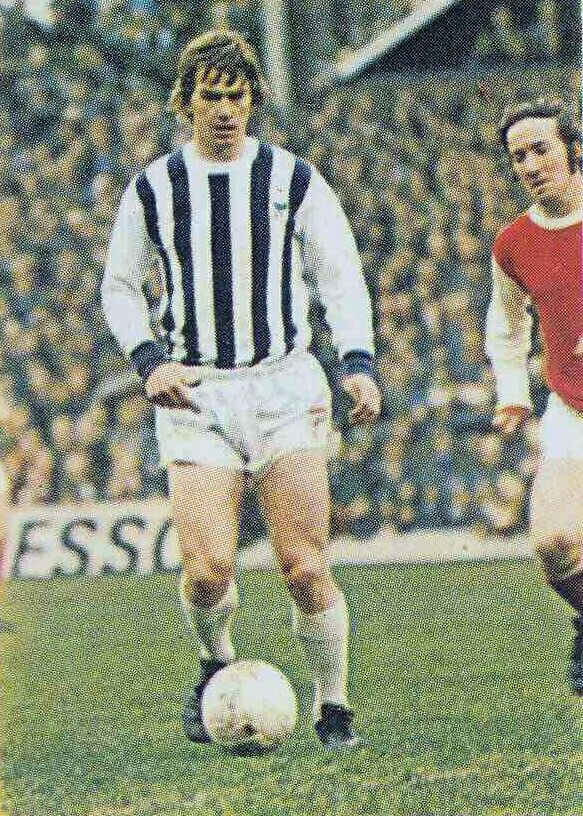 Colin Suggett of West Brom in 1970.