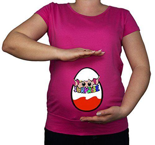 T-Shirt für Schwangere Schwangerschaft  Kind  Guck-Guck