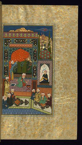Five poems (quintet), Walters Art Museum Ms. W.607, fol. 268b   by Walters Art Museum Illuminated Manuscripts