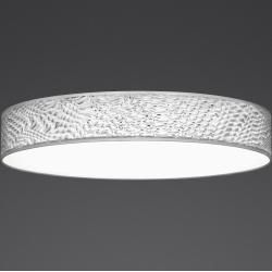 Photo of Hufnagel LED ceiling light 3D film white, 3000K, dimmable, 50cm Luna 1x 30 watts, 50.00 cm 511530-20 H.
