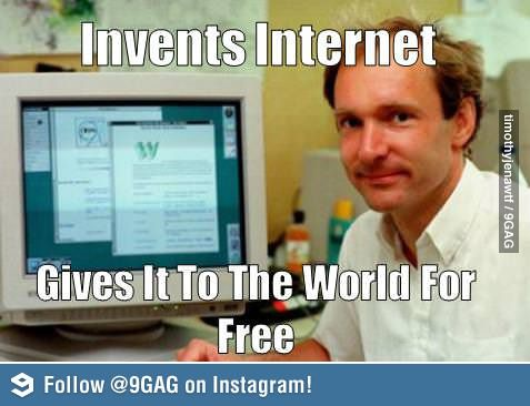 Good Guy Tim Bernes Lee First Web Page Web Marketing Scientist