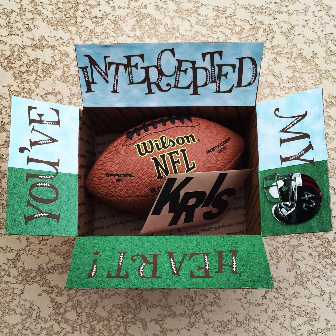 Football Care Package For Your Deployed Soldier Made By