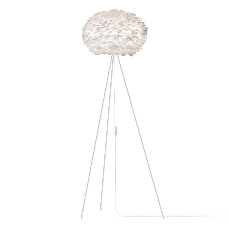 Eos Golvlampa Medium 216 45 Cm Vit Vit Floor Lamp Modern
