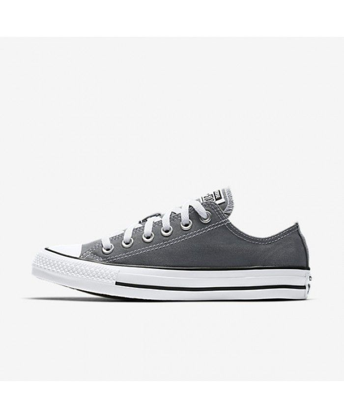 Converse Chuck Taylor All Star Seasonal Low Top Cool Grey 157658F ... 0367982b2
