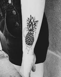 Image result for pineapple tattoo ankle bracelet stan smith #pinappletattoo