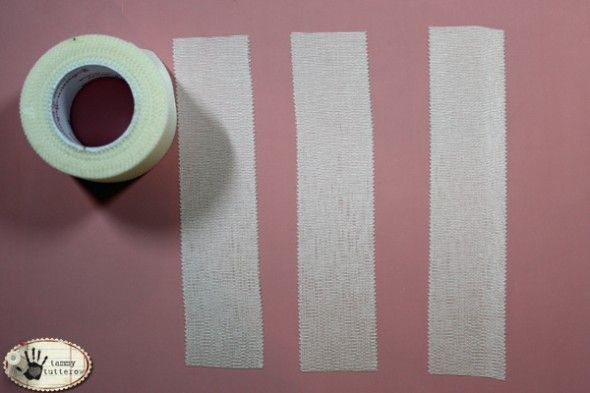 Dyed Adhesive Ribbon (Fabric Bandage Tape)