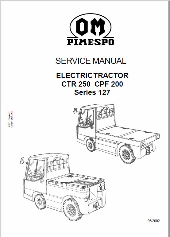 OM PIMESPO FIAT CTR 250, CPF 200, CTR 60 Workshop Repair