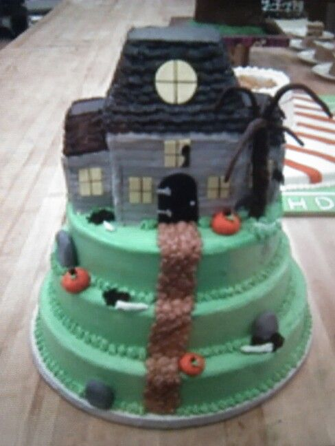 Halloween Cake Idea SmashCakes  Themed Cakes Pinterest - halloween birthday cake ideas