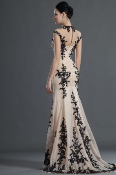 I Had To Pin The Look Of Back It As Well Looove EDressit 2012 New Gorgeous Black Lace Evening Dress Supernatural Style