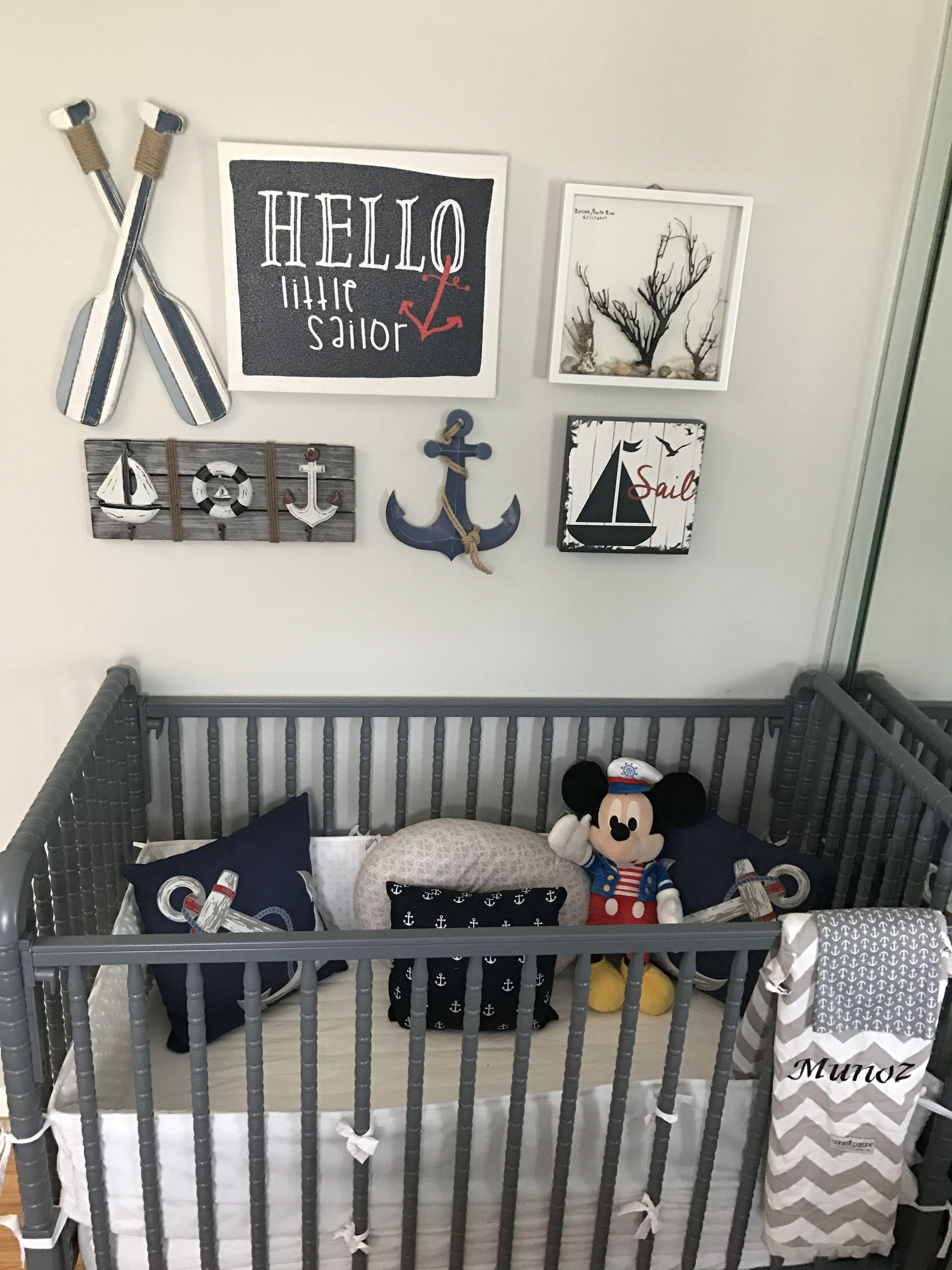 Nautical Baby Boy Nursery Room Ideas: Baby Boy Room Nursery, Baby Nursery