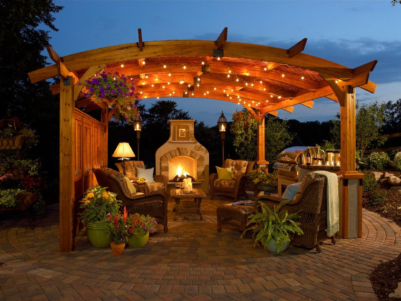 13 Beautiful Pergola Patio Ideas For Your Garden | Pergolas ...