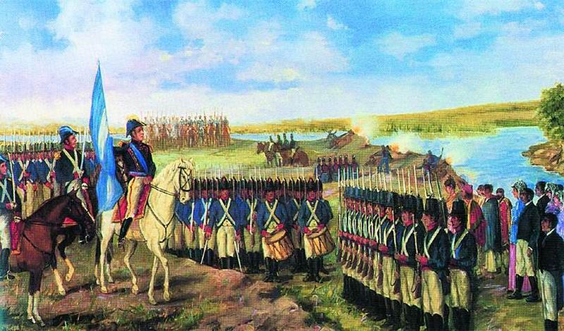 Manuel Belgrano Argentina American Army Argentina Flag
