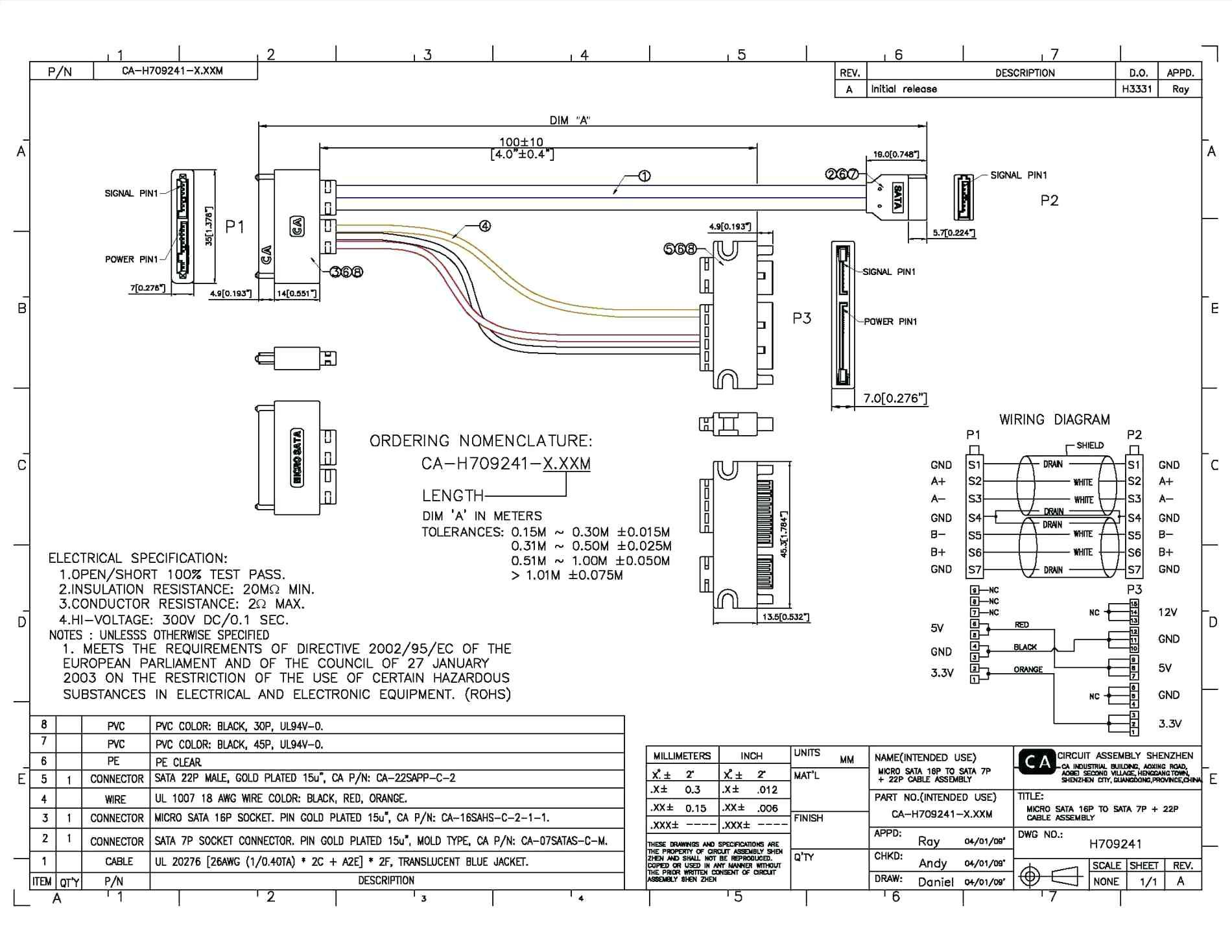 sata to usb cable wiring diagram copy usb serial wiring diagram i to rh pinterest com