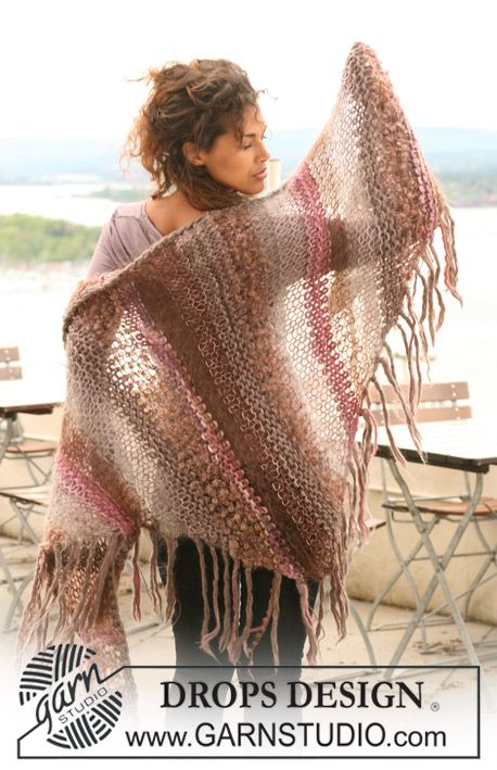 Free Pattern   crochet lase   Pinterest   Chal, Rayas y Patrones