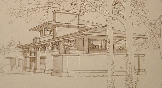 Pin by クリスチャンヌ on Architecture Pinterest Frank lloyd - copy capitol blueprint springfield illinois