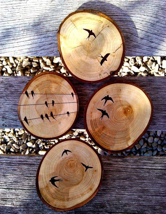 The 25 Best Wood Coasters Ideas On Pinterest Diy