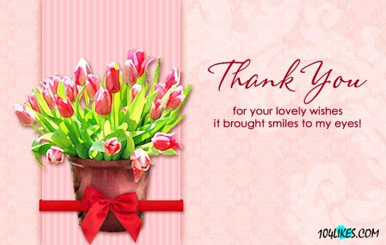 thank you quotes for birthday Google Search Quotes