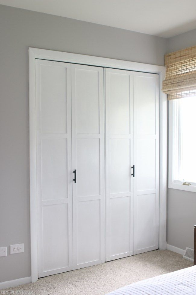 How to update your closet doors on a budget super easy for Closet door ideas