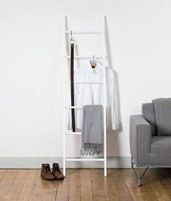 Kleiderleiter 8 Farben lackiert Massivholz Odenwald 5 Sterne - handtuchhalter für küche