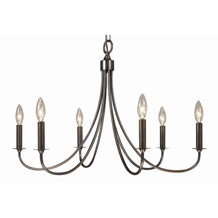 You'll love the Maisonette 6 Light Dining Chandelier at Wayfair.ca - Great Deals on all Lighting  products with Free Shipping on most stuff, even the big stuff.
