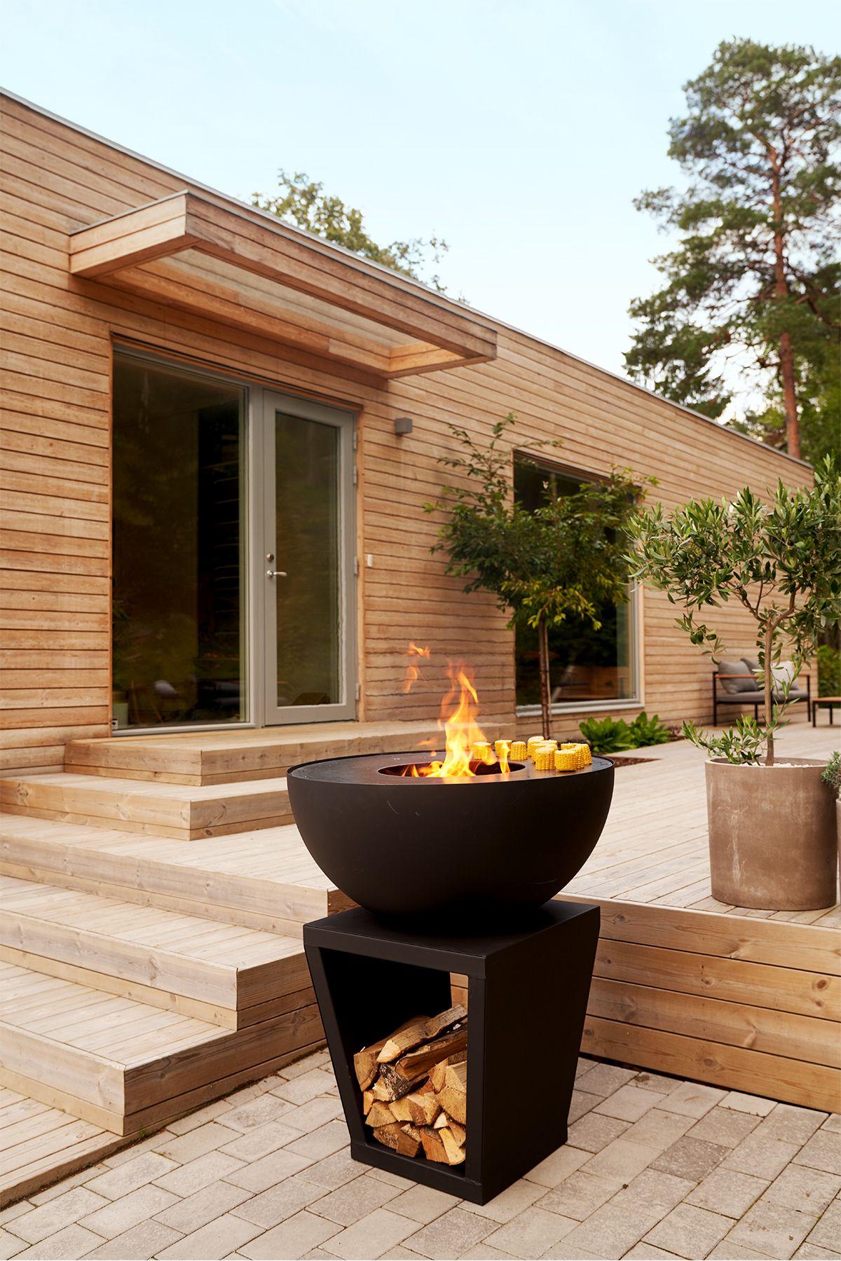 Feuerschale Fur Garten Und Terrasse Feuerschalen Garten Feuerschale Feuerstelle Garten