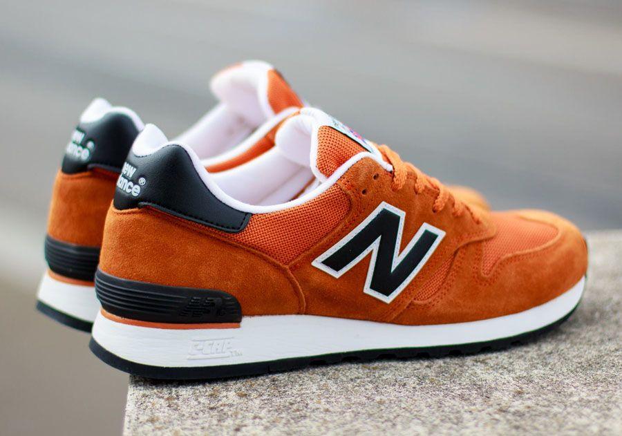 new balance orange