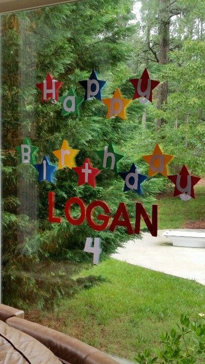 Happy Birthday Logan Happy Birthday Outdoor Decor Decor